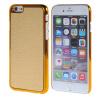 MOONCASE Litchi Skin золото Chrome Hard Back чехол для Cover Apple iPhone 6 (4.7) золото purple fashionable leopard leather skin hard cover for iphone 5c