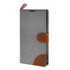 MOONCASE Xperia Z1 L39h , Leather Wallet Flip Card Holder Pouch Stand Back ЧЕХОЛ ДЛЯ Sony Xperia Z1 L39h Grey msd1306xs z1
