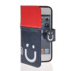 все цены на  MOONCASE Leather Side Flip Wallet Card Slot Pouch Stand Shell Back ЧЕХОЛ ДЛЯ Apple iPhone 5 5S Red Blue  онлайн