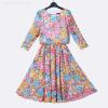 Осенние платья для женщин 2015 Версия для печати Платье с шифоновым платьем с длинным рукавом