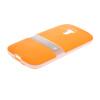 MOONCASE Мягкие гибкие силиконовый гель ТПУ кожи с Kickstand Оболочка задняя крышка чехол для Motorola Moto G оранжевый