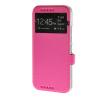 MOONCASE Slim Leather Wallet Flip Card Slot Holster Pouch with Kickstand чехол для HTC One M9 Hot pink синий slim robot armor kickstand ударопрочный жесткий корпус из прочной резины для vivo x9plus