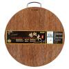 Dub обилие твердой древесины разделочная доска разделочная доска разделочная доска измельчения дерева круглые крылья JP36D (φ36 * 2 см)