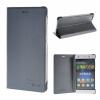 MOONCASE Huawei Ascend P8 Lite ЧЕХОЛДЛЯ Premium PU Leather Pouch Flip Grey аксессуар защитное стекло huawei ascend p8 lite sipo 7969