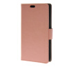 MOONCASE Smooth PU Leather Flip Wallet Card Slot Bracket Back чехол для Sony Xperia E4 Pink mooncase smooth pu leather flip wallet card slot bracket back чехол для sony xperia m4 aqua pink