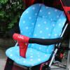 mymei детской коляске подушки сиденья толщиной хлопка коврик белый дот