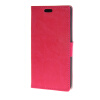 MOONCASE Leather Side Flip Wallet Card Holder Stand Shell Pouch ЧЕХОЛ ДЛЯ LG G4 Hot pink jeans cloth card holder stand pu leather shell for iphone 6s 6 4 7 inch pink