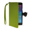 MOONCASE Litch Skin Leather Side Flip Wallet Card Slot Pouch Stand Shell Back ЧЕХОЛ ДЛЯ Samsung Galaxy Note 4 N9100 Green чехол для для мобильных телефонов rcd 4 samsung 4 for samsung galaxy note 4 iv