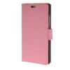 MOONCASE Simple Leather Flip Wallet Card Slot Stand Back чехол для Huawei Ascend P8 lite Pink luxury stand flip