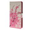 MOONCASE Plum flower style Leather Wallet Flip Card Slot Stand Pouch чехол для Microsoft Lumia 540 A06