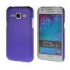 MOONCASE Жесткий Прорезиненные Резина Оболочка Вернуться Защитная крышка чехол для Samsung Galaxy J1 Фиолетовый