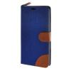 MOONCASE Zenfone 2 ZE550ML 5.5 , Leather Wallet Flip Stand ЧЕХОЛ ДЛЯ ASUS Zenfone 2 5.5 inch ZE550ML / ZE551ML Dark blue чехол накладка pulsar clipcase pc soft touch для asus zenfone 2 ze551ml 5 5 inch желтая