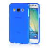 MOONCASE Transparent Soft Flexible Silicone Gel TPU Skin Shell Back ЧЕХОЛ ДЛЯ Samsung Galaxy A3 Blue аксессуар чехол samsung galaxy a3 2017 cojess tpu 0 3mm transparent
