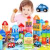 MING TA MTW-006-3 Детские деревянные кубики 148 кусков Развивающие игрушки для раннего образования развивающие деревянные игрушки кубики сладости