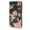 MOONCASE цветок стиль Кожа боковой паз флип Бумажник карты Стенд Чехол чехол для Microsoft Lumia 640 XL / A17