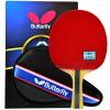 Бабочка (бабочка) 6-звездная ракетка для настольного тенниса двухсторонняя анти-пластиковая доска для настольного тенниса 603 горизонтальная битовая одиночная пленка