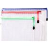 Deli (гастроном) 33181 доступных водонепроницаемые сетки молнии мешок / бумажный мешок / наборы 3 комплекта (A4 + B5 + A5) эффективные гастроном 7723 тепловой факс бумажный пакет 210мм 20м 1