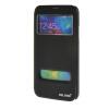 MOONCASE Samsung Galaxy S5 I9600 чехол для View Slim Leather Flip Pouch Bracket Back Cover Black