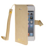 MOONCASE Стильный Флип кожаный бумажник держателя карты Чехол отойти чехол для Apple IPhone 5 / 5S/ IPhone SE Золото защитный чехол esr для iphone se 5s