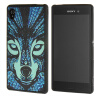MOONCASE чехол для Sony Xperia M4 Pattern series Flexible Soft Gel TPU Silicone Skin Slim Durable Cover