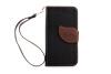 MOONCASE [оставляет магнитные кнопки] премиум - пу - кожа Flip бумажник, слот для карт памяти и вернуть дело для покрытия iPhone 4 4S