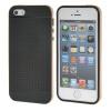 MOONCASE iPhone 5 5S Дело Гибкая Мягкий гель ТПУ силиконовая кожа Тонкий прочный чехол для Apple IPhone 5 / 5G / 5S Золото