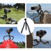 firstseller портативный гибкий мини штатив Спрут стоят гориллы pod для GoPro камеры/зеркальные/ДВ черный мини пластиковые складная фото штатив стол для dslr камеры