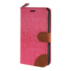 MOONCASE Xperia E4 , Leather Wallet Flip Card Holder Pouch Stand Back ЧЕХОЛ ДЛЯ Sony Xperia E4 Hot pink skinbox 4people чехол для sony xperia e4 e4 dual red