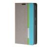 все цены на MOONCASE Премиум Слот Синтетический кожаный бумажник флип чехол Чехол карты Стенд чехол для Nokia Lumia 530 Серый онлайн