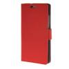 MOONCASE Мягкая кожа PU Бумажник Флип карты отойти Кожаный чехол для Huawei Ascend P8 Lite Красный huawei p8 lite