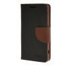 MOONCASE Splice Color Leather Wallet Flip Card Slot Bracket Back чехол для Sony Xperia Z4 Compact (Mini)  Black02 аксессуар чехол sony xperia xa1 ultra brosco black xa1u 4side st black