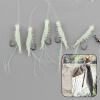 5шт Светящиеся Креветки приманки рыбалки приманки крючок снасти Одноместный Crank нового