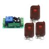 MITI 3 способа Выход ВКЛ / ВЫКЛ 12 Свет цифровой беспроводной настенный выключатель + пульт дистанционного управления Бесплатная доставка