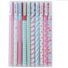 NicerDicer 10шт/набор красочный корейский Канцелярские товары Канцелярские товары Акварель, перо, гелевые ручки набор
