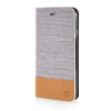 все цены на MOONCASE Canvas Design Leather Side Flip Wallet Stand Shell Back ЧЕХОЛ ДЛЯ Apple iPhone 6 Plus ( 5.5 inch ) Light Brown онлайн