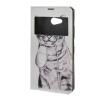 MOONCASE Чехол для Microsoft Lumia с 640 тонкий флип кожаный бумажник карты и kickstand Чехол / а15 аксессуар защитное стекло sony xperia xa1 ultra brosco full screen black xa1u fs glass black