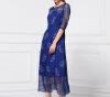 Lovaru ™2015 лето новой женской одежды оптовая шелк модный бренд в Европе и Америке из бисера платье фирму действующую в европе