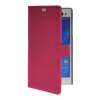 MOONCASE Slim Leather Side Flip Wallet Card Slot Pouch with Kickstand Shell Back чехол для Sony Xperia C3 Hot pink mooncase slim leather side flip wallet card slot pouch with kickstand shell back чехол для huawei ascend g7 purple