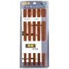 Палочки для палочек из палочки для дерева «Darle Fung» с палочками из дерева 10 Двойной KZ124
