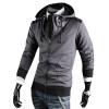 CT&HF Мужчины просто досуг пальто Корея моды личности руно зима хлопка с длинным рукавом куртки молнии руно тонкий дизайн