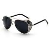 feidu железный человек 3 мацуда рэй тони стимпанк очки очки мужчин дизайнер марки очки классических ретро - солнцезащитные очки очки корригирующие grand очки готовые 3 5 fe090