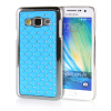 MOONCASE Hard Chrome Plated Star Bling Back ЧЕХОЛ ДЛЯ Samsung Galaxy A3 Azure mooncase hard chrome plated star bling back чехол для samsung galaxy a7 blue