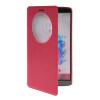 все цены на MOONCASE View Window Leather Side Flip Pouch Stand Shell Back ЧЕХОЛДЛЯ LG G3 Hot pink онлайн