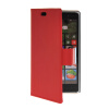 MOONCASE Slim Leather Side Flip Wallet Card Slot Pouch Stand Shell Back ЧЕХОЛДЛЯ Nokia Lumia 830 Red mooncase slim leather side flip wallet card slot pouch with kickstand shell back чехол для nokia lumia 535 white