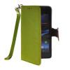 MOONCASE Лич кожи Кожа держатель карты бумажник чехол с Kickstand чехол для Sony Xperia Z1 Compact (Mini ) Зеленый mooncase лич кожи кожа держатель карты бумажник чехол с kickstand чехол для sony xperia z1 compact mini браун