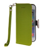 MOONCASE Litch Skin Leather Side Flip Wallet Card Slot Pouch Stand Shell Back ЧЕХОЛ ДЛЯ Apple iPhone 6 ( 4.7 inch ) Green