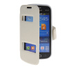 MOONCASE View Window Leather Side Flip Pouch Stand Shell Back ЧЕХОЛДЛЯ Samsung Galaxy Trend Lite S7390 / S7392 White mooncase view window leather side flip pouch stand shell back чехолдля samsung galaxy grand prime g5306w white