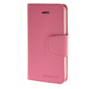 MOONCASE чехол для iPhone 5G / 5S PU Leather Flip Wallet Card Slot Stand Back Cover Pink mooncase чехол для iphone 6 plus 5 5 pu leather flip wallet card slot stand back cover hot pink