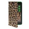 MOONCASE Slim Leather Flip Wallet Card Pouch with Kickstand Shell Back ЧЕХОЛДЛЯ Nokia Lumia 630 Leopard синий slim robot armor kickstand ударопрочный жесткий корпус из прочной резины для vivo x9plus