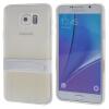 MOONCASE Samsung Galaxy Note 5 ЧЕХОЛДЛЯ Soft Silicone Gel TPU Skin With Bracket Protective Clear 01 mooncase samsung galaxy note 5 чехол